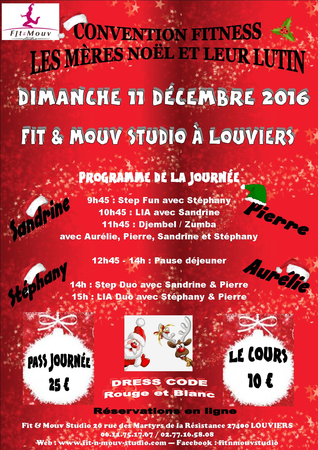 Convention Fitness Noël 2016
